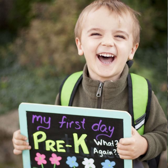 300d427caae4 15+ Creative First Day of School Photo Ideas to Capture Your Kid's  Personality