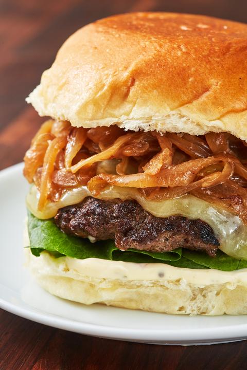 Bison Burger - Delish.com