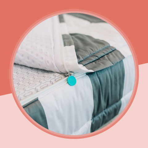the easiest way to make your bed