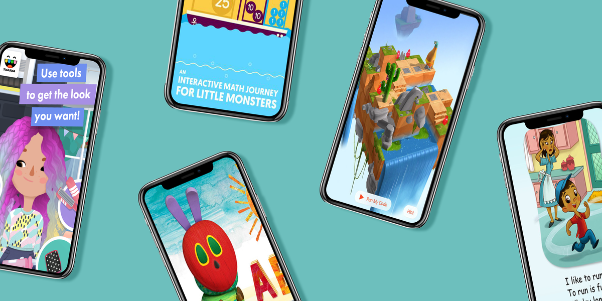 best free game apps for 4 year olds