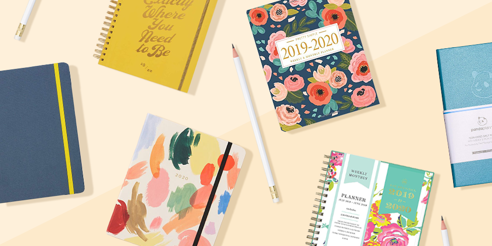 photograph about Daily Planner Notebook identify Hardcover Planner