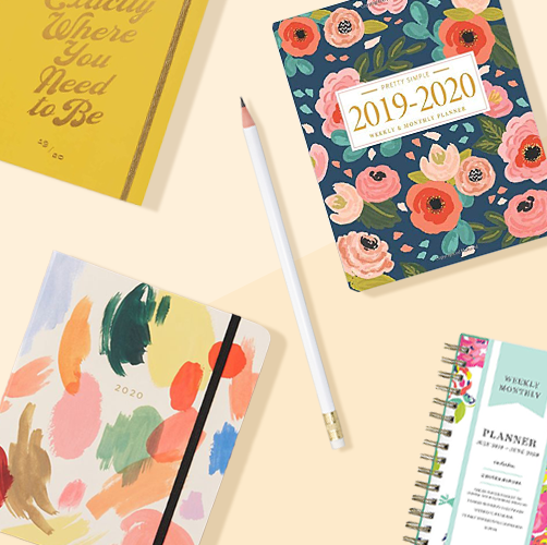 Best Monthly Planner 2020 12 Best Daily Planners for 2019   Cute Daily Planners