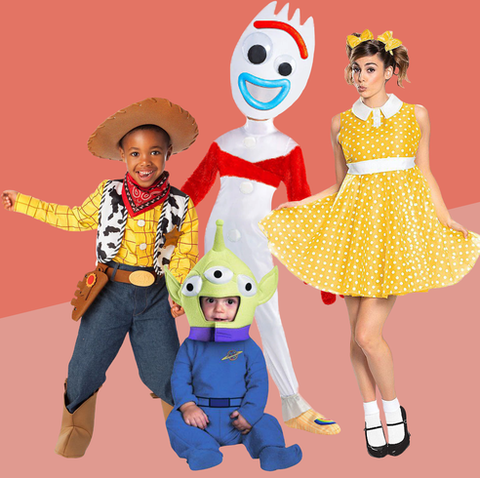 family halloween costumes   toy story
