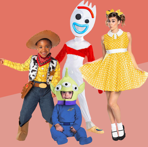 Best Toy Story Halloween Costumes Forky Woody Buzz And More