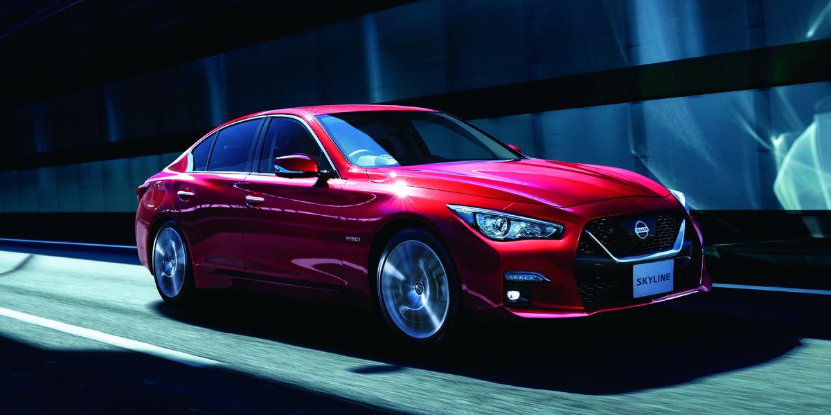 Gmc Tahoe Lease >> Nissan Skyline, Japan's Infiniti Q50, Updated with ...