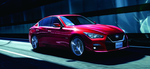 Infiniti Q50 Lease Deals >> Nissan Skyline, Japan's Infiniti Q50, Updated with Outdated Styling