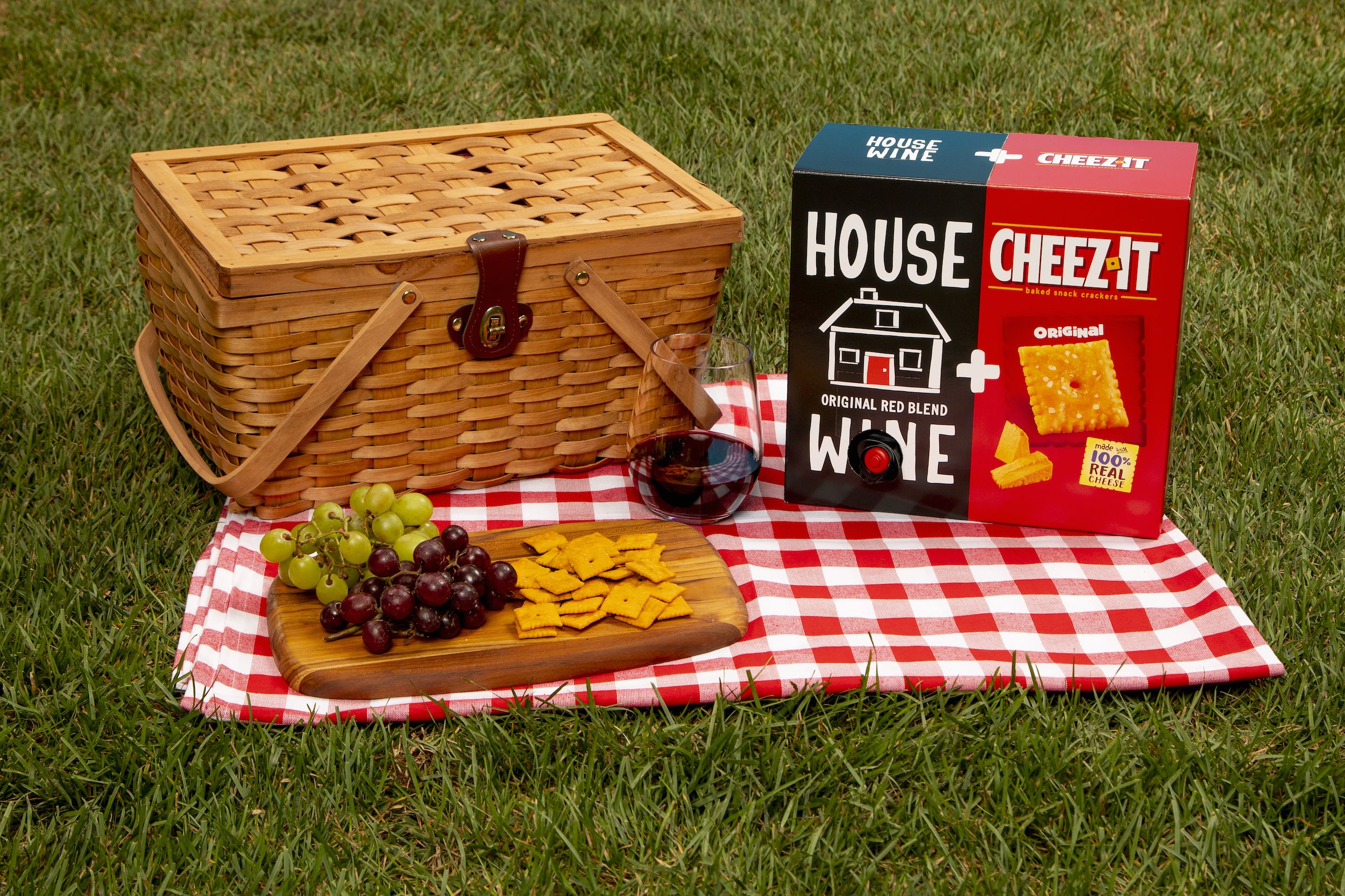 Cheez-It's Brand-New Dual Box Comes With Wine And Cheese, Because What Else Do You Need?