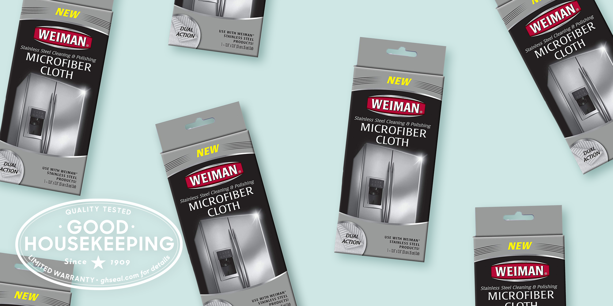 GH Seal Spotlight: Weiman Stainless Steel Microfiber Cloth