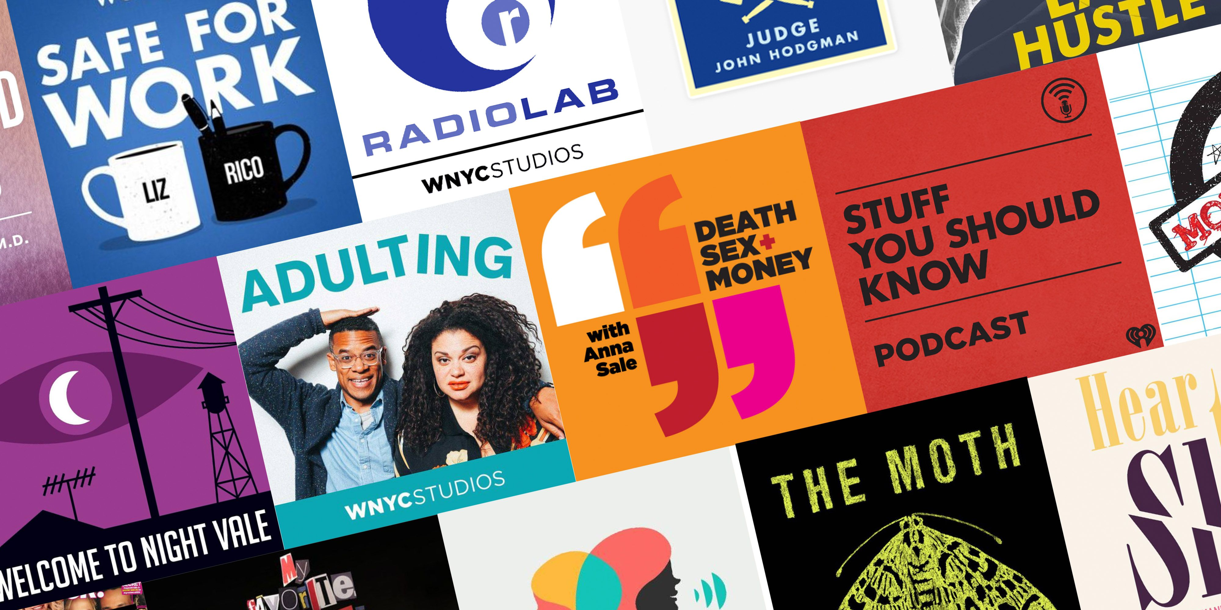 25 Coolest Podcasts of 2019 so Far, Including the Third Season of 'Serial'
