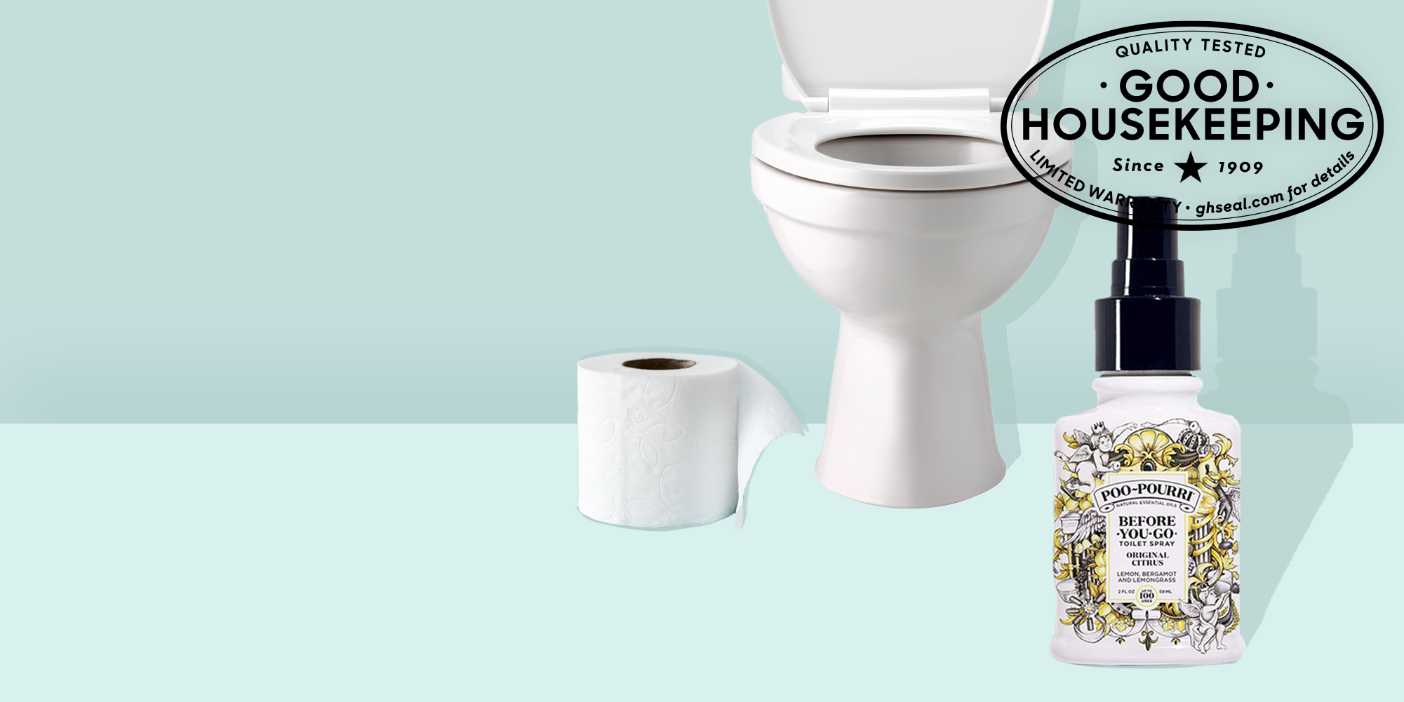 GH Seal Spotlight: Poo-Pourri Toilet Sprays