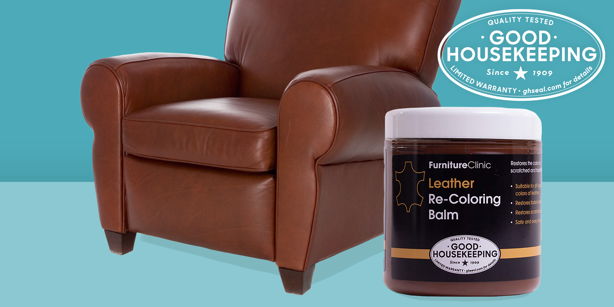 GH Seal Spotlight: Furniture Clinic Leather Re-Coloring Balm