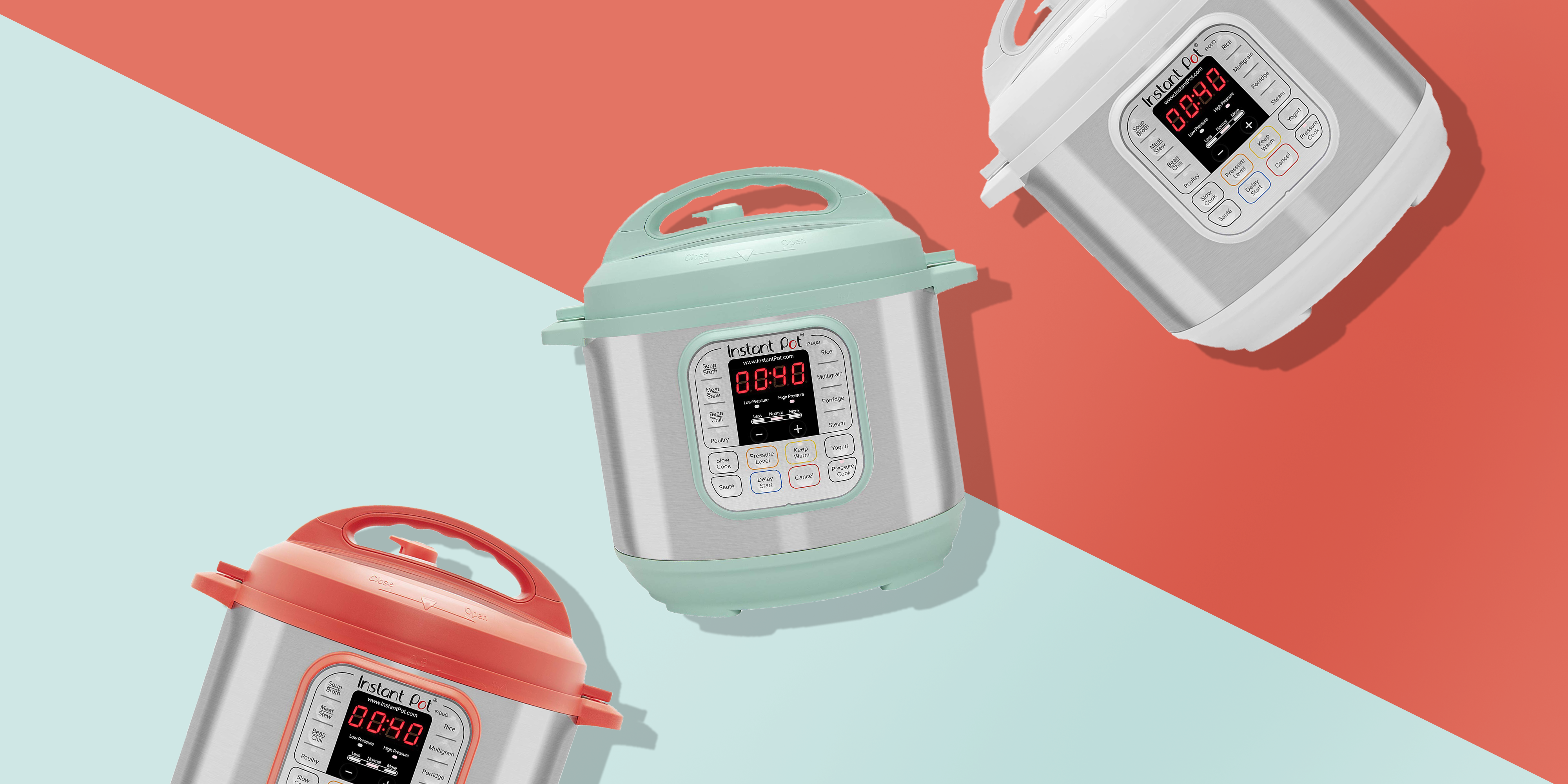 The Instant Pot Now Comes in Three New Colors and We're Obsessed