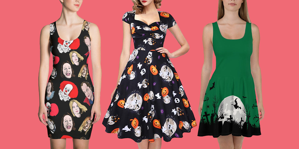 20 Halloween Dresses That Are Perfect for People Who Are Too Lazy to DIY a Costume