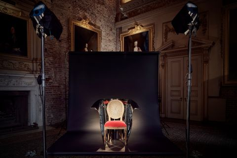 Awesome Ron Arad Unveils Limited Edition Chair For Oka Bralicious Painted Fabric Chair Ideas Braliciousco