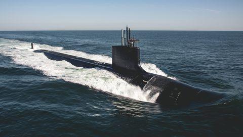 Delaware SSN 791 Sea Trials - Bravo