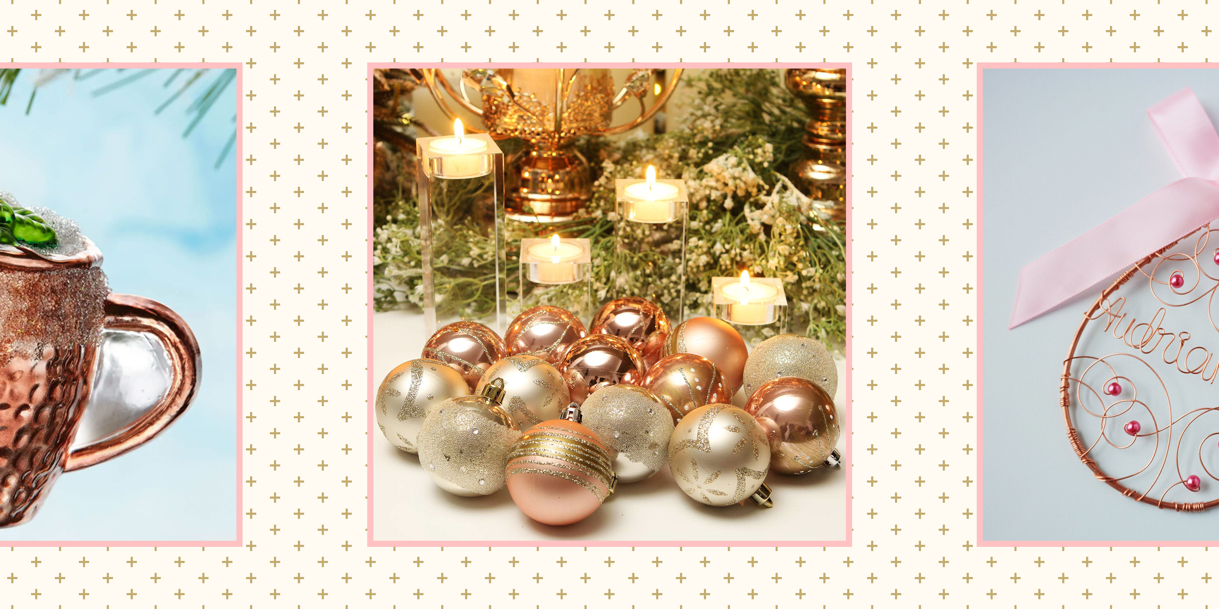 21 Pretty Rose Gold Christmas Decorations Best Rose Gold