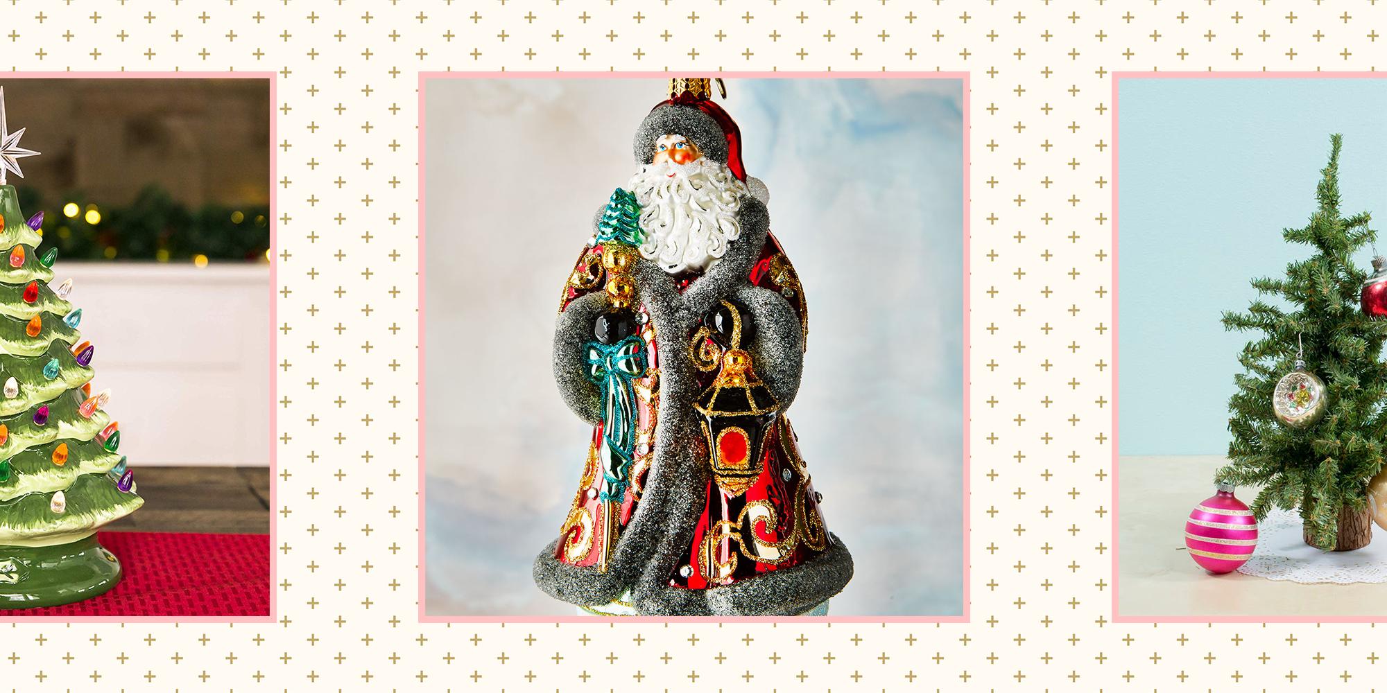 21 Best Vintage Christmas Decorations Retro Ornaments and Decor