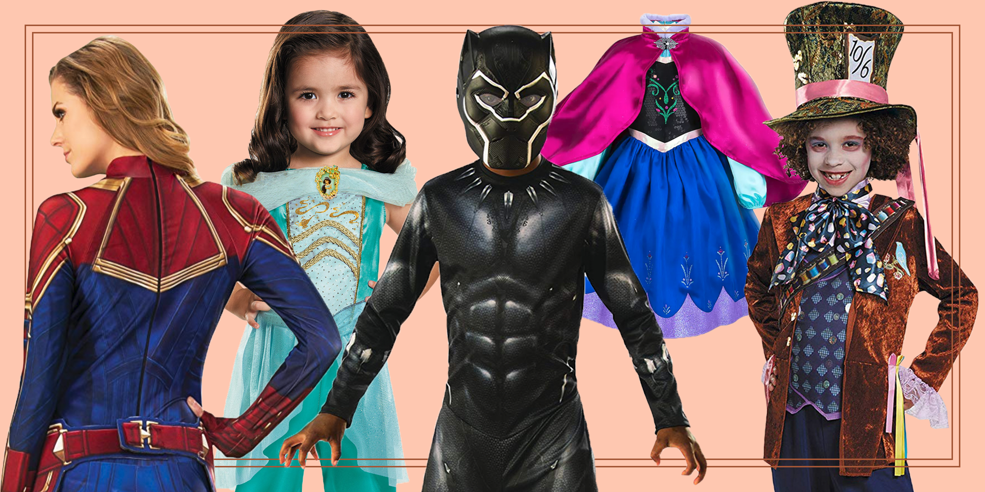 You and Your Family Need to Dress as Disney Characters This Halloween