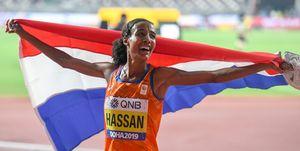 Sifan Hassan gouden medaille wk atletiek doha