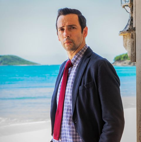 Ralf Little first Death in Paradise case revealed