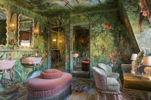 Loos in the Mews at Annabel's by Martin Brudnizki, Photography James McDonald