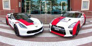 Ambulancia Dubái Corvette GT-R