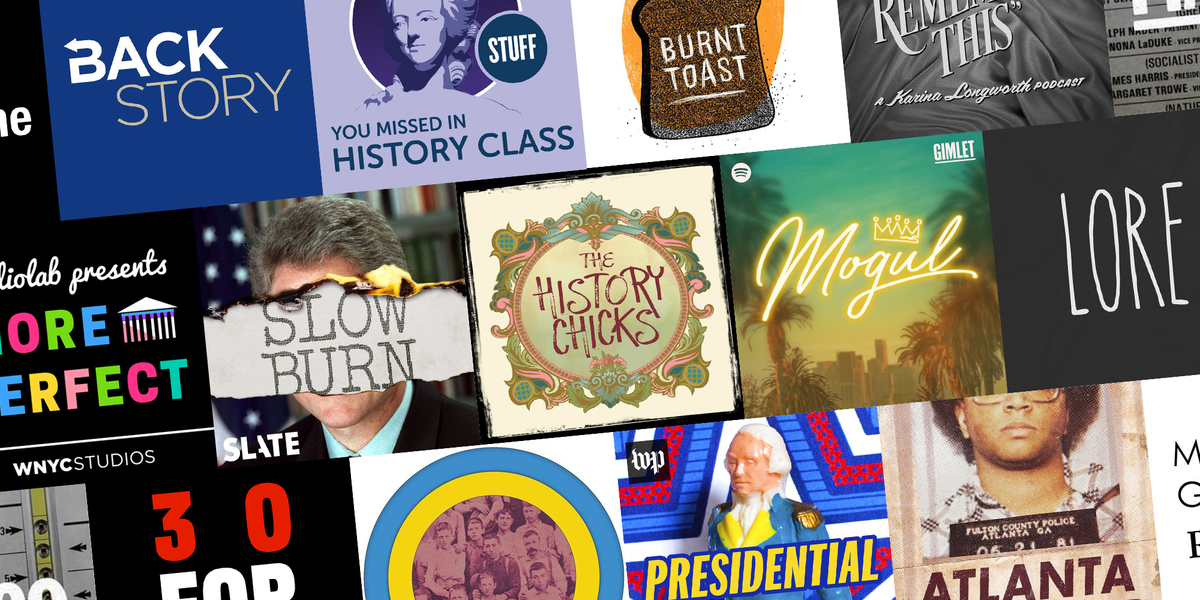 16 Fascinating History Podcasts to Boost Your Brain on the Go