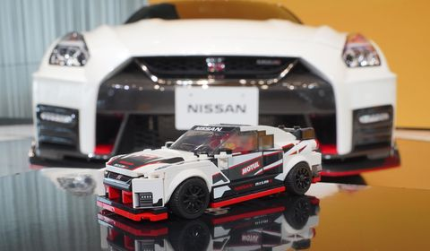 Nissan GT-R NISMO Gets the Lego-Brick Treatment