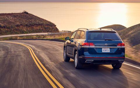 2021 Volkswagen Atlas debut at 2020 Chicago auto show