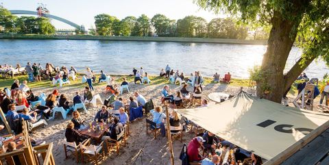 leisure, community, tourism, boat, crowd, vehicle, waterway, recreation, river, boating,