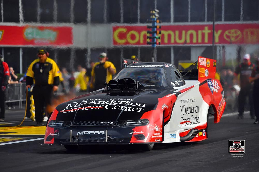 NHRA Funny Car Driver Tommy Johnson Jr. Will Be Racing to Combat Cancer in 2020