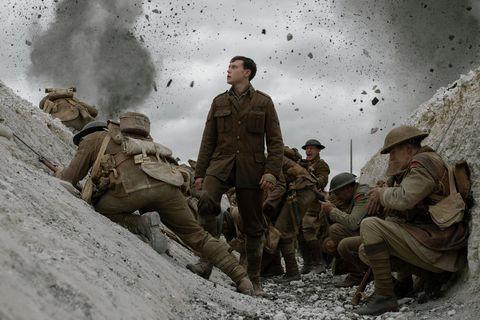Still uit de oorlogsfilm 1917