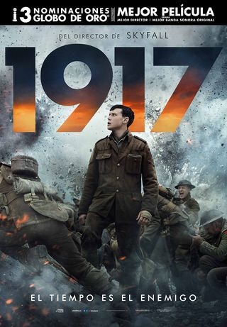"Cartel final de ""1917"" de Sam Mendes"