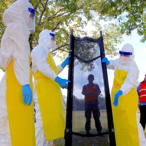 CDC epidemiologists perform practice exercises to learn to fight outbreaks