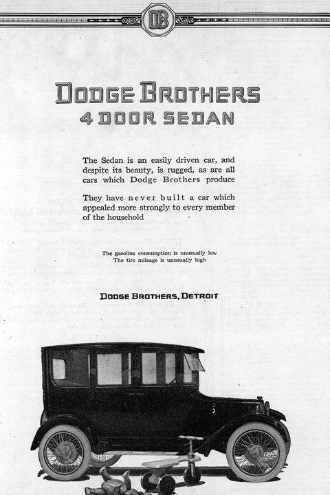 【1919年】ダッジブラザーズ・モデル30(Dodge Brothers Model 30)