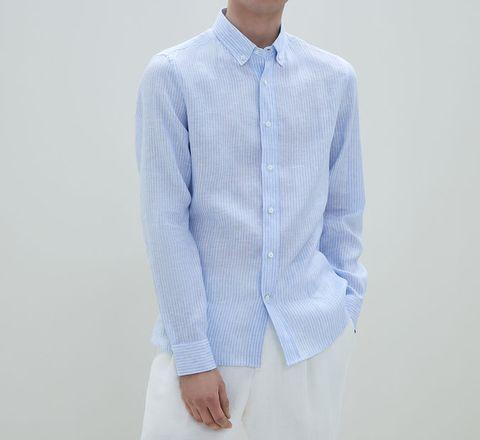 new concept a0f23 b8303 Camicie di lino uomo: 10 modelli per l'estate 2019