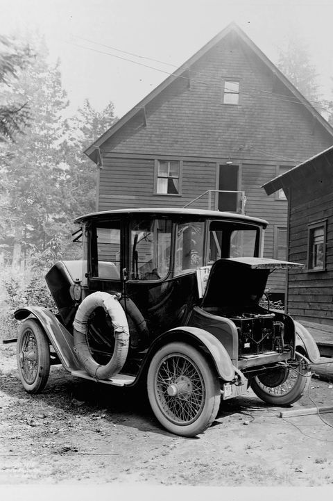 Motor vehicle, Vintage car, Vehicle, Car, Classic, Antique car, Classic car, Ford motor company, Ford model a, Black-and-white,