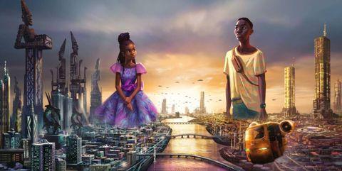 disney kondigt nieuwe samenwerking aan met afrikaans animatiebureau nieuwe serie vanaf 2022 te zien via het disney kanaal