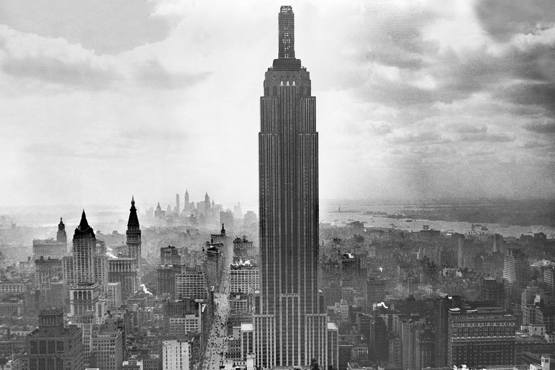 Aerial New York Photo Old New York Phot Vintage New York Print Vintage NY Pic