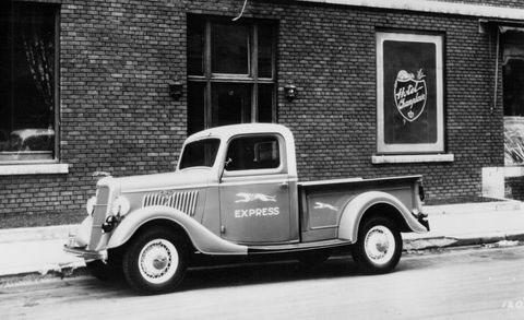 Ford S F Series Pickup Truck Its History From The Model