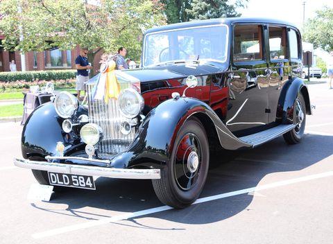 1936 rolls royce 25 30 park ward limo