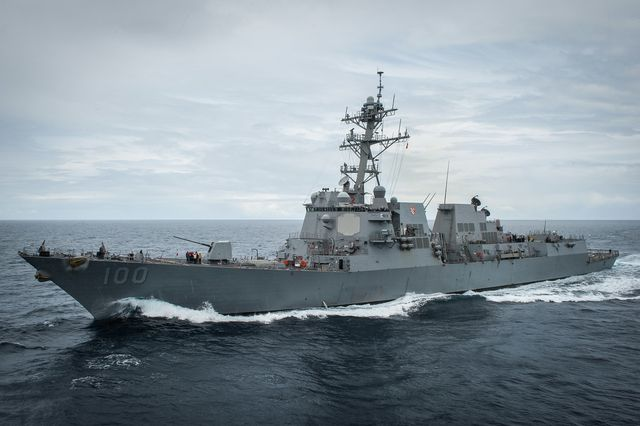 150514 n bq948 008 pacific ocean may 14, 2015 – the guided missile destroyer uss kidd ddg 100 is currently underway off the coast of southern california us navy photo by mass communication specialist 2nd class jacob estesreleased