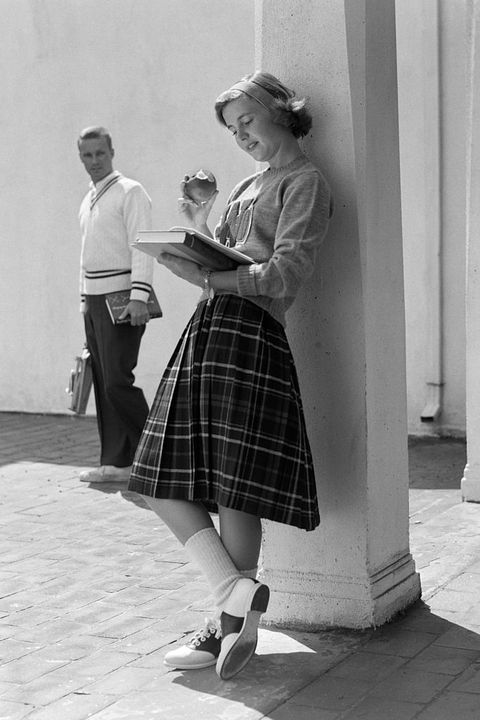 1950s 1960s BLOND TEEN...