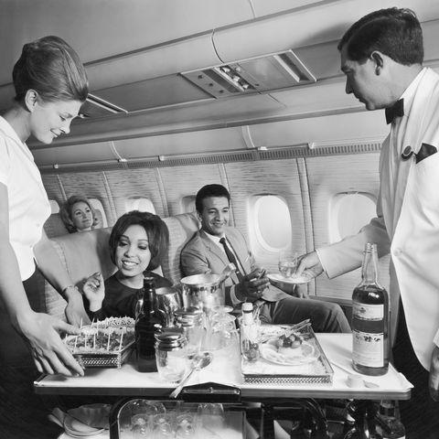 1950s 1960s travel flying