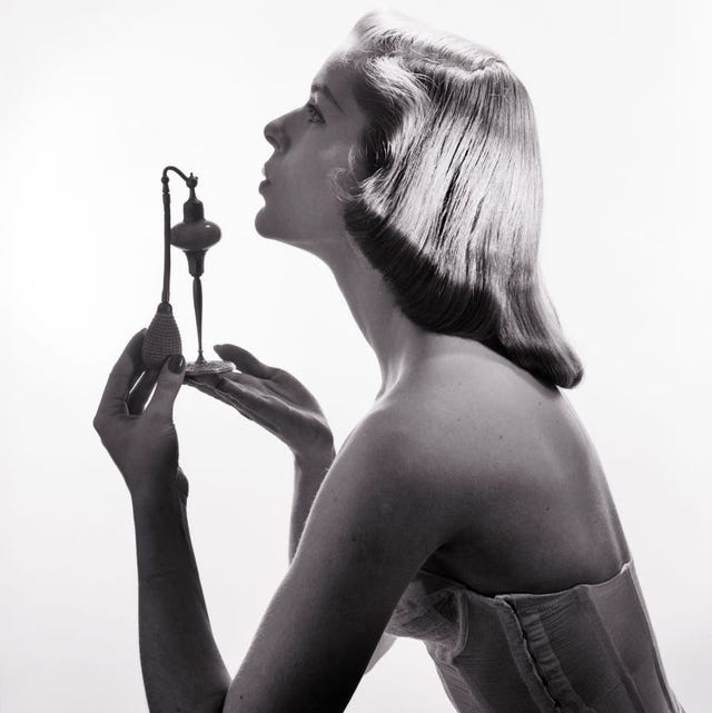 1950s profile portrait