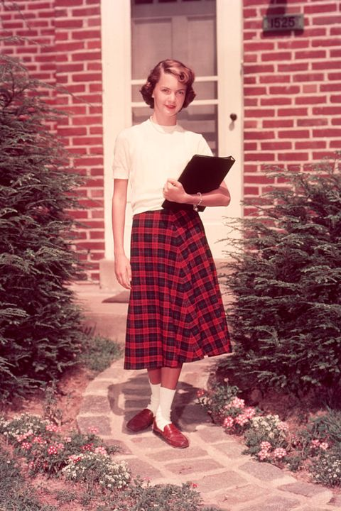 1950s TEEN TEENAGE GIRL...