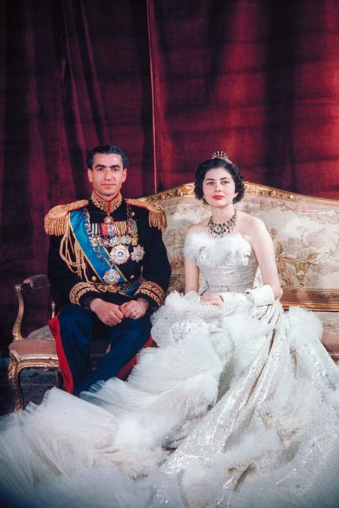 Photograph, Bride, Dress, Gown, Wedding dress, Red, Fashion, Beauty, Skin, Formal wear,