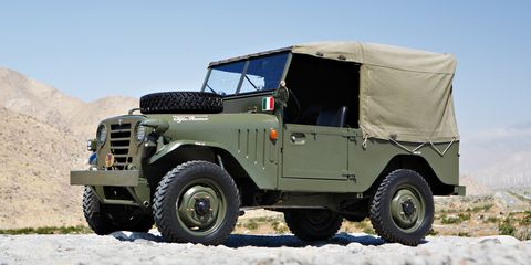 Land vehicle, Vehicle, Car, Off-road vehicle, Jeep, Sport utility vehicle, Mini SUV, Land rover series, Off-roading, Military vehicle,