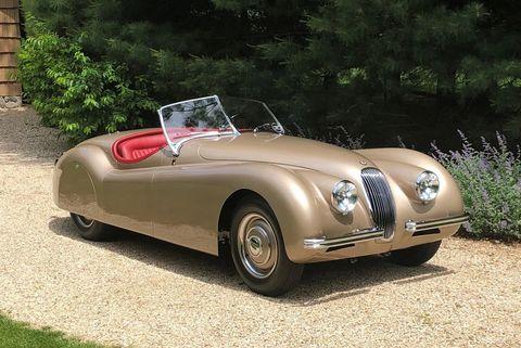 clark gable's 1952 jaguar xk120