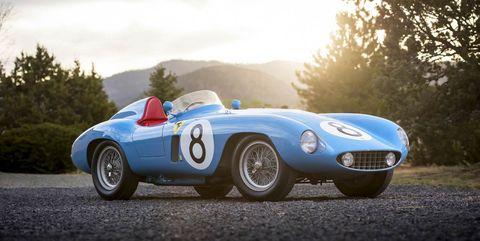 Land vehicle, Vehicle, Car, Classic car, Coupé, Sports car, Race car, Ferrari monza, Sedan, Convertible,